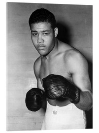 Acrylic glass  Joe Louis