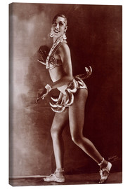 Canvas  Josephine Baker