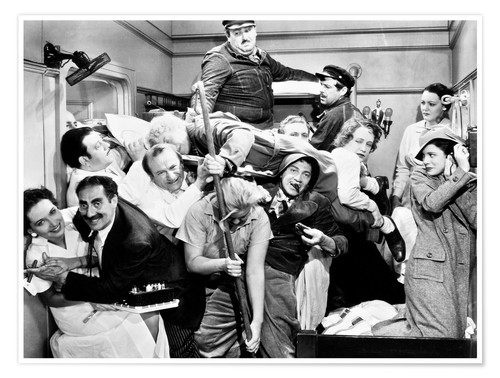 Premium poster The Marx Brothers, 1935