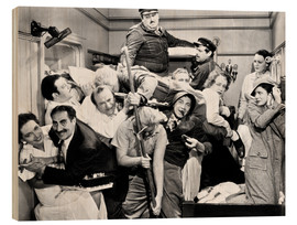 Wood print  The Marx Brothers, 1935
