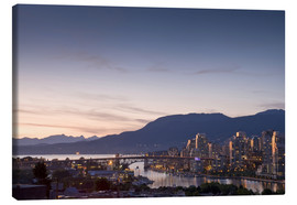 Canvas print  Cityscape of Vancouver - E. O. Reed