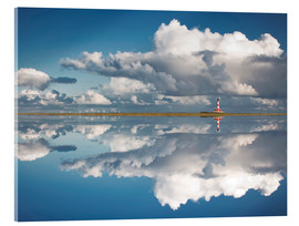 Acrylic glass  Westerheversand Reflection - Carsten Meyerdierks