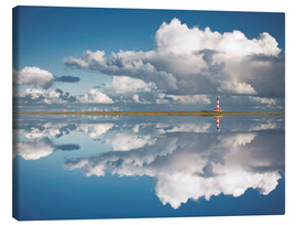 Canvas print  Westerheversand Reflection - Carsten Meyerdierks