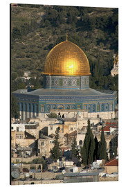 Aluminium print  Jerusalem and the Dome of the Rock - David Noyes