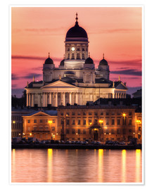 Premium poster Helsinki Cathedral