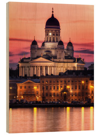 Wood print  Helsinki Cathedral - Marcus Klepper
