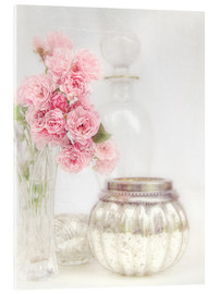 Acrylic print  Still life with roses - Lizzy Pe
