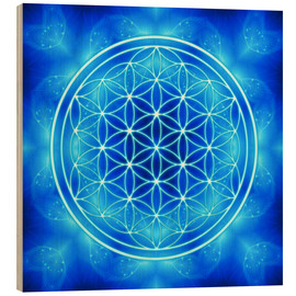 Dolphins DreamDesign - Flower of Life - Archangel Michael