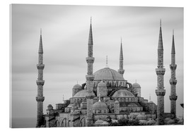 Acrylic glass  the blue mosque in Istanbul / Turkey - gn fotografie