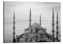 Aluminium print  the blue mosque in Istanbul / Turkey - gn fotografie