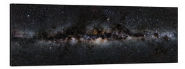 Alu-Dibond  Milky Way Panorama - Jan Hattenbach