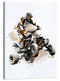 Canvas print  Quadbike - Tompico