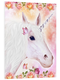 Foam board print  Loving Unicorn - Dolphins DreamDesign