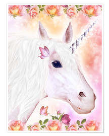 Premium poster Loving Unicorn