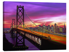 Canvas print  Bay Bridge in San Francisco - Paul Thompson