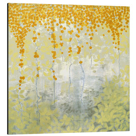 Aluminium print  Golden morning - Herb Dickinson