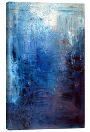 Canvas print  Deep blue - Yannick Leniger