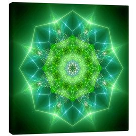 Canvas print  Mandala - healing power - Dolphins DreamDesign