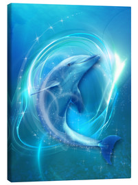 Canvas print  Dolphin Energy - Dolphins DreamDesign