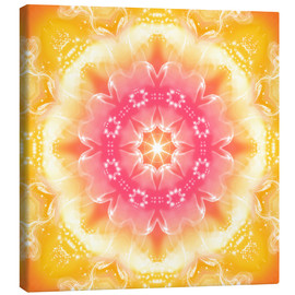 Canvas print  Mandala - Recognition - Dolphins DreamDesign