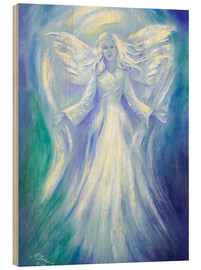 Wood print  Angel of Love - Marita Zacharias