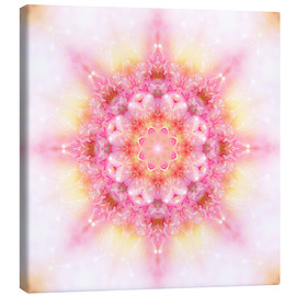 Canvas print  Mandala - Your time - Dolphins DreamDesign