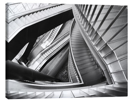 Canvas print  Stairs - Falko Follert
