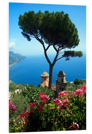 Foam board print  Italy Ravello View2 - Mayday74
