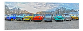 Foam board print  GDR Trabant, Trabant collection - HADYPHOTO