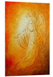 Foam board print  Angel of healing - Marita Zacharias