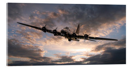 Acrylic print  The Flying Fortress - airpowerart