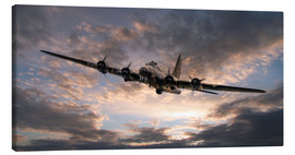 Canvas print  The Flying Fortress - airpowerart