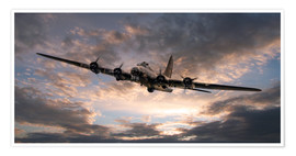 Premium poster  The Flying Fortress - airpowerart