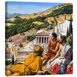 Canvas print  Ancient Greece - Roger Payne