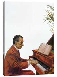 Canvas print  Rachmaninoff playing the piano - Andrew Howat