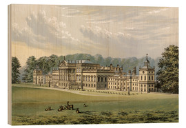 Wood print  Wentworth Woodhouse - Alexander Francis Lydon