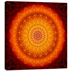 Canvas print  Energy Mandala 1 - Christine Bässler
