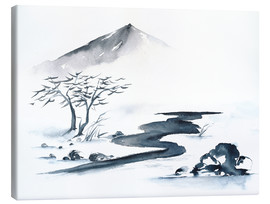 Canvas print  Asiatic Landscape - Jitka Krause