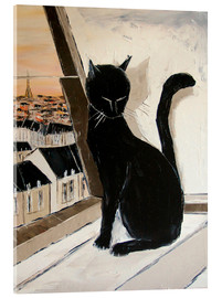 Acrylic print  Paris of cats - JIEL