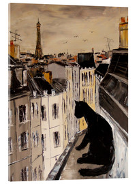 Acrylic print  Paris views - JIEL