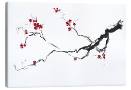 Canvas  Cherry blossom - Jitka Krause