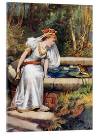 Acrylic glass  The Frog Prince - William Henry Margetson