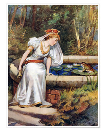 Premium poster  The Frog Prince - William Henry Margetson