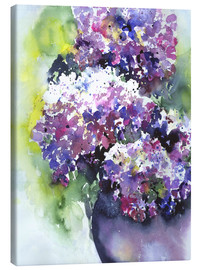Canvas print  Hydrangeas - Jitka Krause