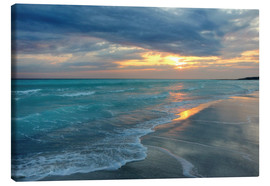 Canvas print  Sunset at the sea - Filtergrafia
