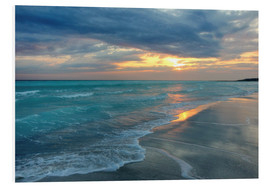 Foam board print  Sunset at the sea - Filtergrafia