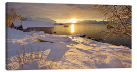 Canvas print  Lofoten Winter VII - Rainer Mirau