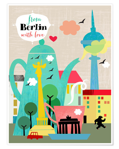 Premium poster From Berlin with love