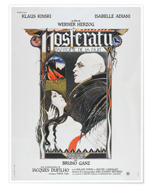 Premium poster  Nosferatu The Vampyre, French Poster