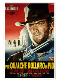 Premium poster  For a few dollars more (Italian)
